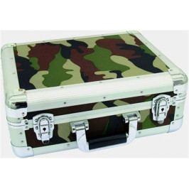 Roadinger 30122058 CD Case Alu Digital Booking army