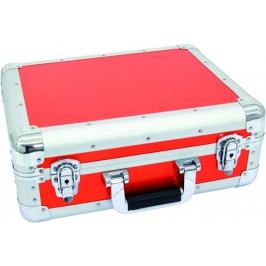 Roadinger 3012205A CD Case Alu Digital Booking červený