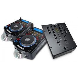 Numark DJ SET: 2x NDX500 + M2 Black