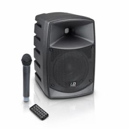 LD Systems Roadbuddy 6 - Battery Powered Bluetooth Speaker with Mixer and Wireless Microphone