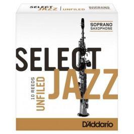 Rico RRS10SSX2H Select Jazz - Soprano Saxophone Reeds - Unfiled - 2 Hard - 10 Box