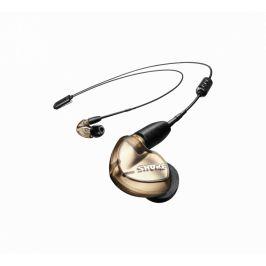 SHURE SE535 - bronzová in-ear sluchátka s RMCE-UNI a RMCE-BT2